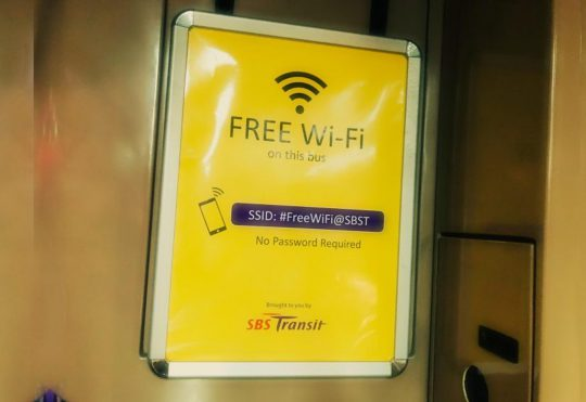 How Free Wi-Fi in buses driving mobile apps users in Singapore